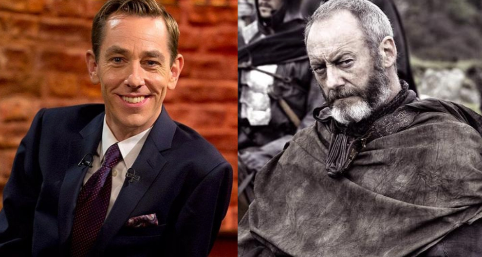 Late Late Show Ryan Tubridy Game of Thrones