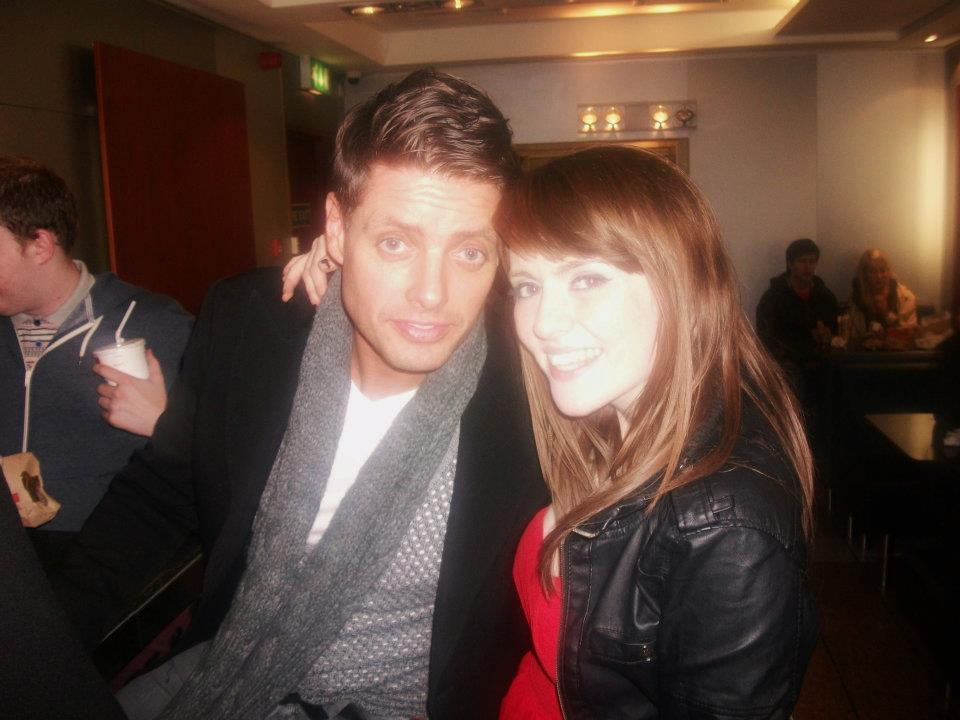 Keith Duffy and Grace McGettigan