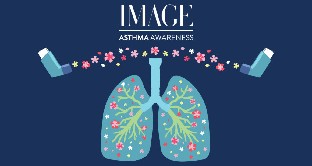 asthma awareness, illustration by Sophie Teyssier