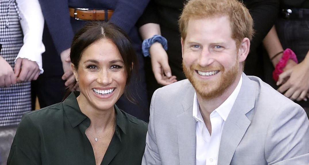 Prince Harry and Meghan Markle via Instagram