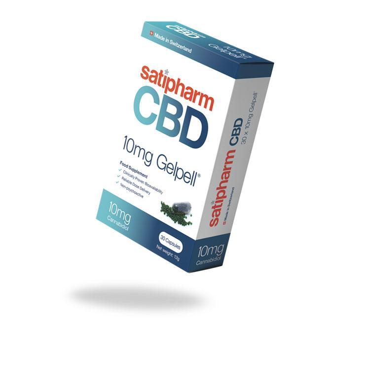 Satipharm CBD capsules