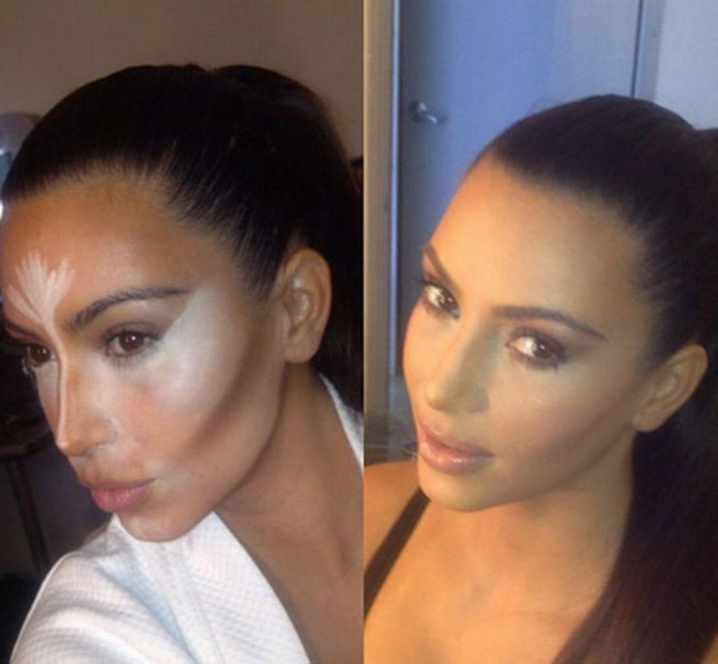 Kim Kardashian in 2012 via Twitter