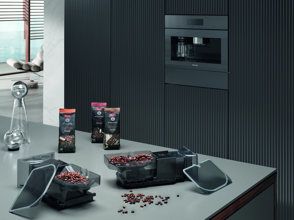Miele coffee bean to cup