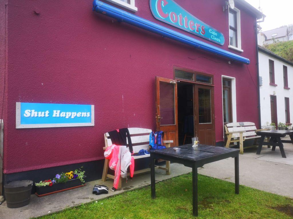 Cottars pub on Cape Clear Island