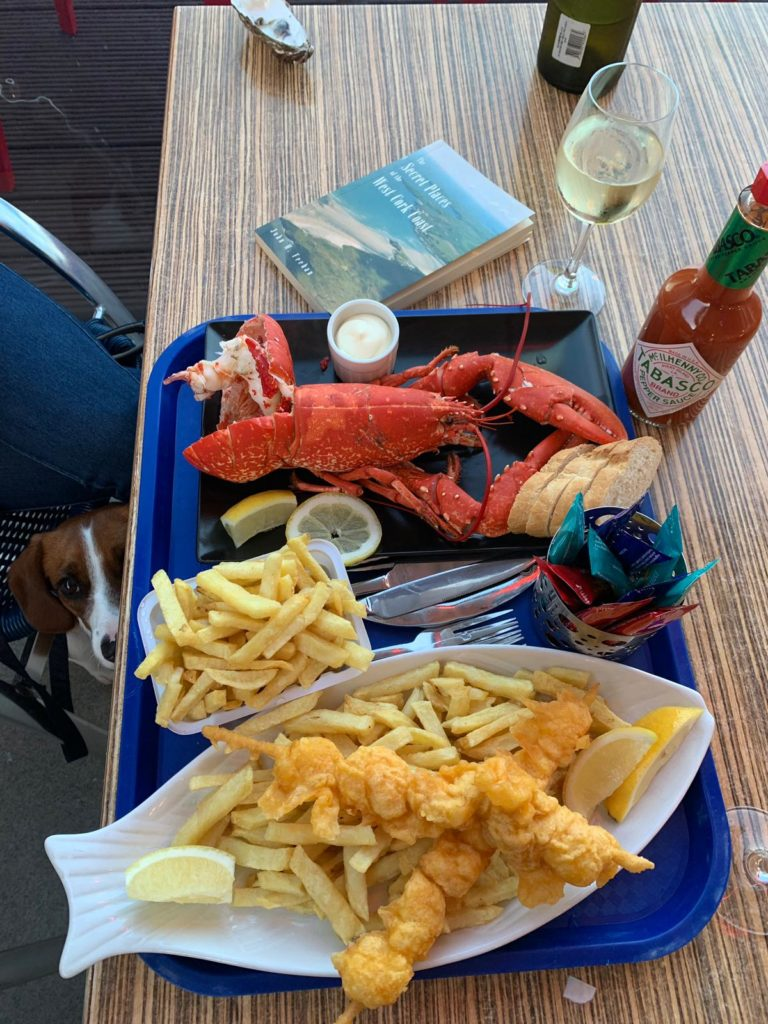 L'Escale Fish & Chips in Schull Harbour