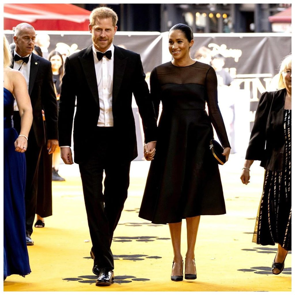 Meghan Markle and Prince Harry via Sussex Royal Instagram