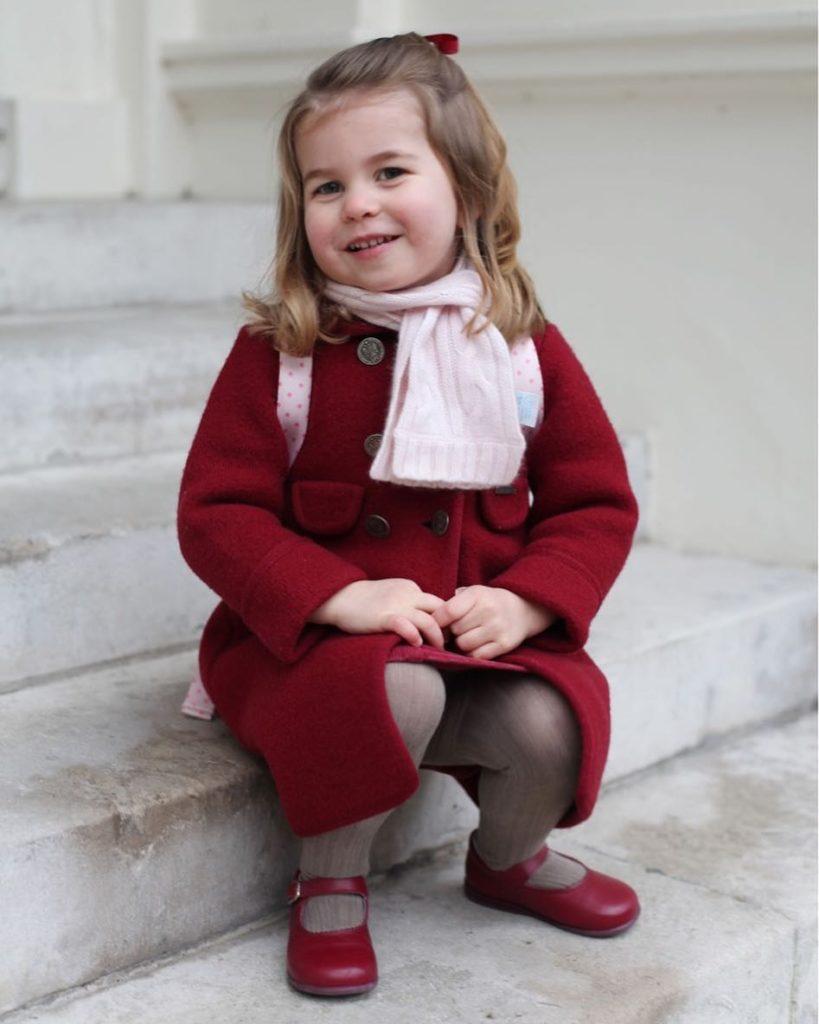 Princess Charlotte, photo by Kensington Palace