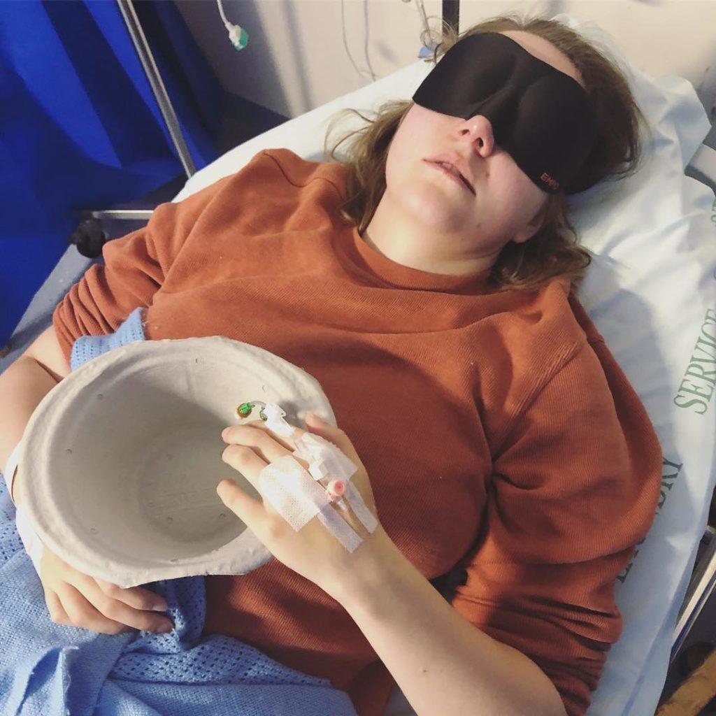 Migraine - 100 Days of Vitamin Sea - Beth Francis via Instagram