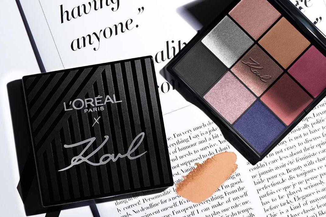 Karl Lagerfeld x L'Oréal Paris collection