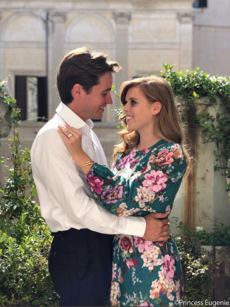 Princess Beatrice engaged to Edoardo Mapelli Mozzi