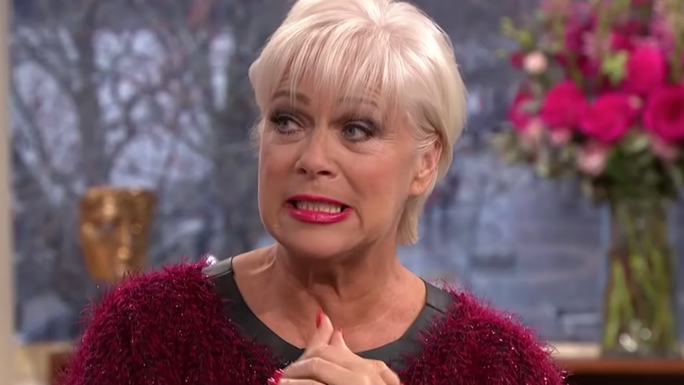 Denise Welch on This Morning, ITV