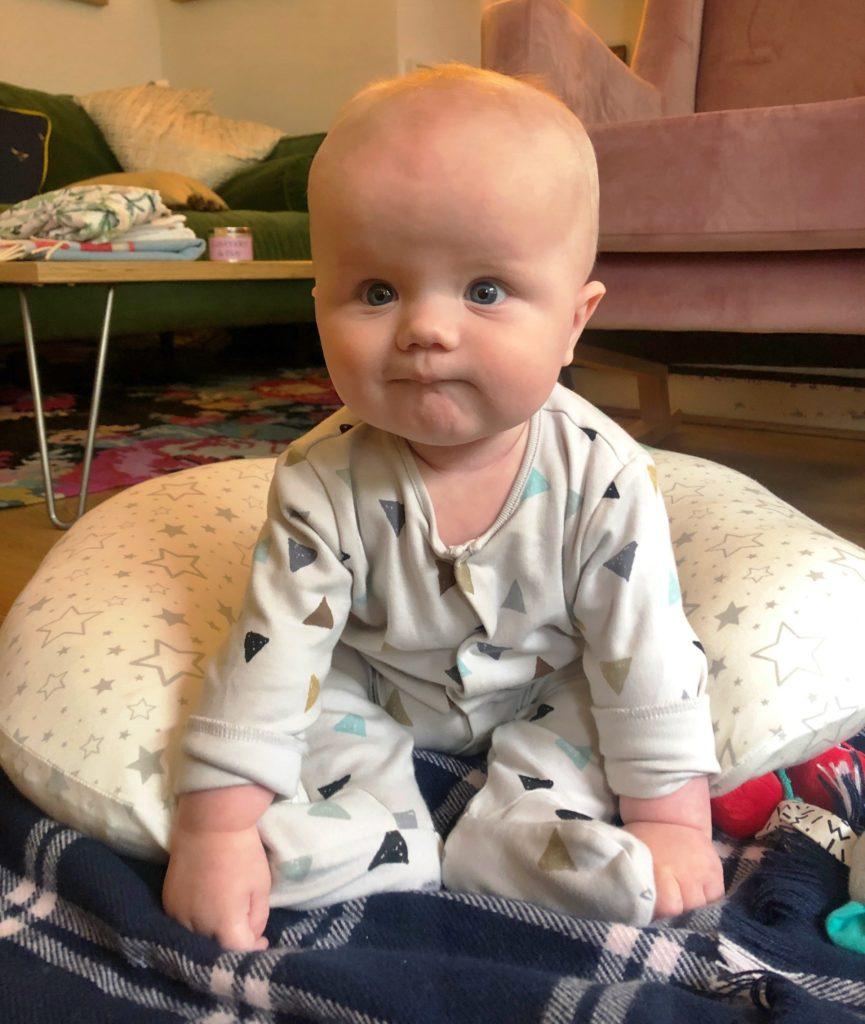 Dominique McMullan's baby boy