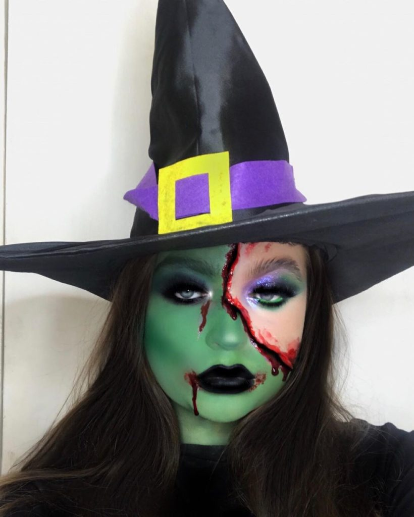 Halloween make-up looks