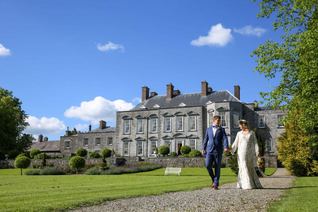Irish wedding venue Castle Durrow