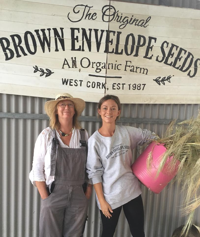 Madeline McKeever and Holly Cairns Brown Envelope Seeds GIY