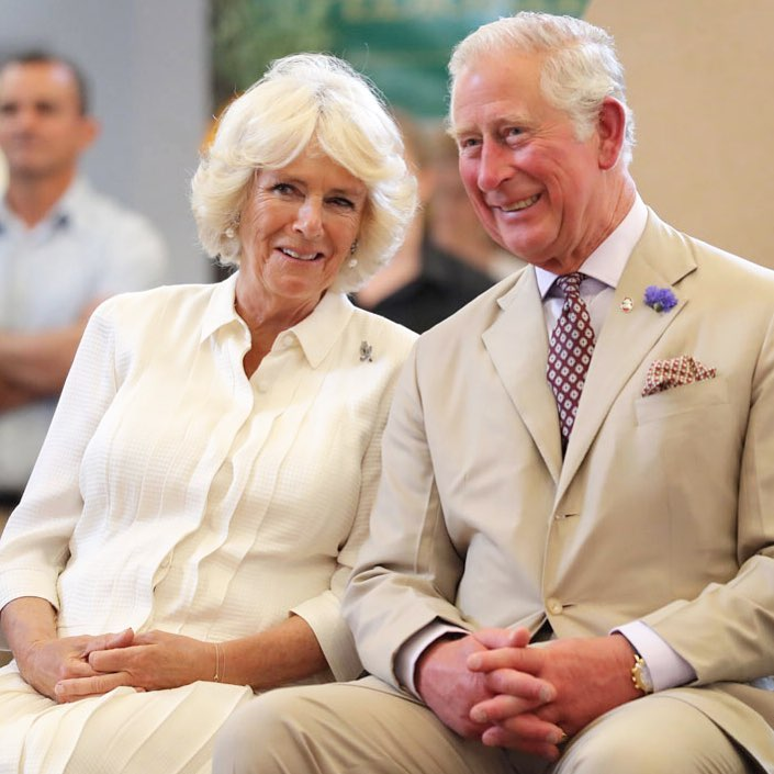 Prince Charles and Camilla Parker via Clarence House on Instagram