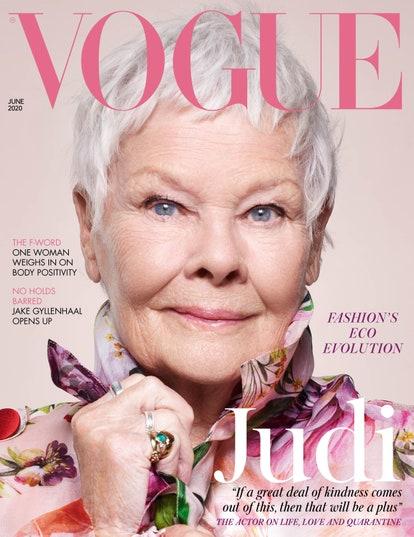 Judi Dench positive ageing