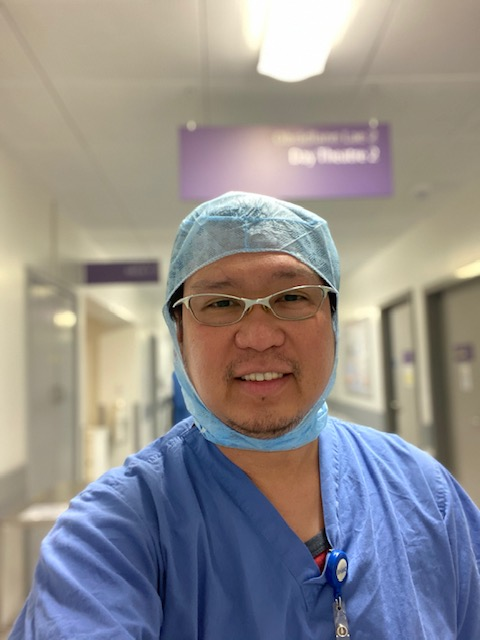 essential workers male nurse
