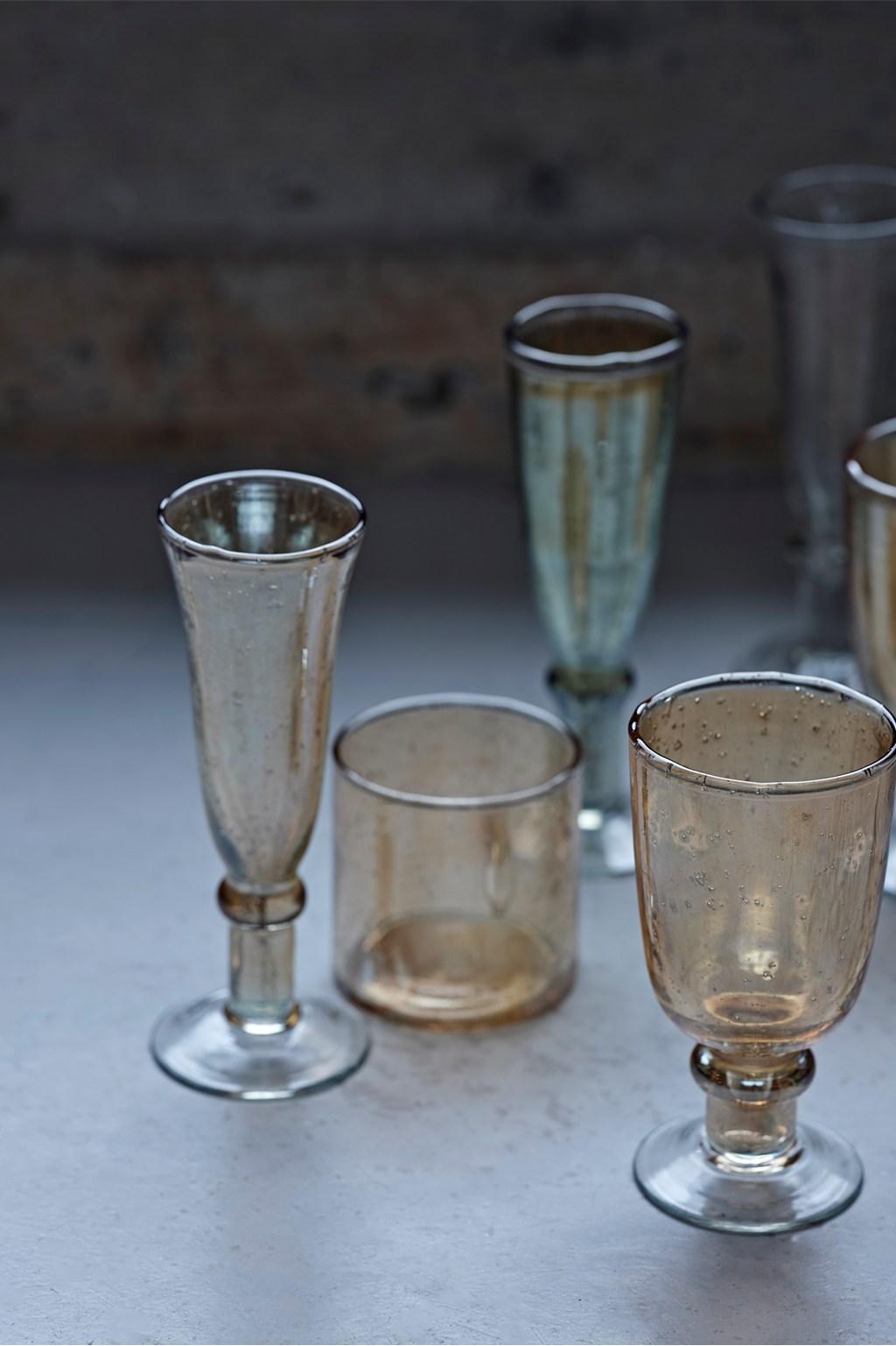 chic glassware