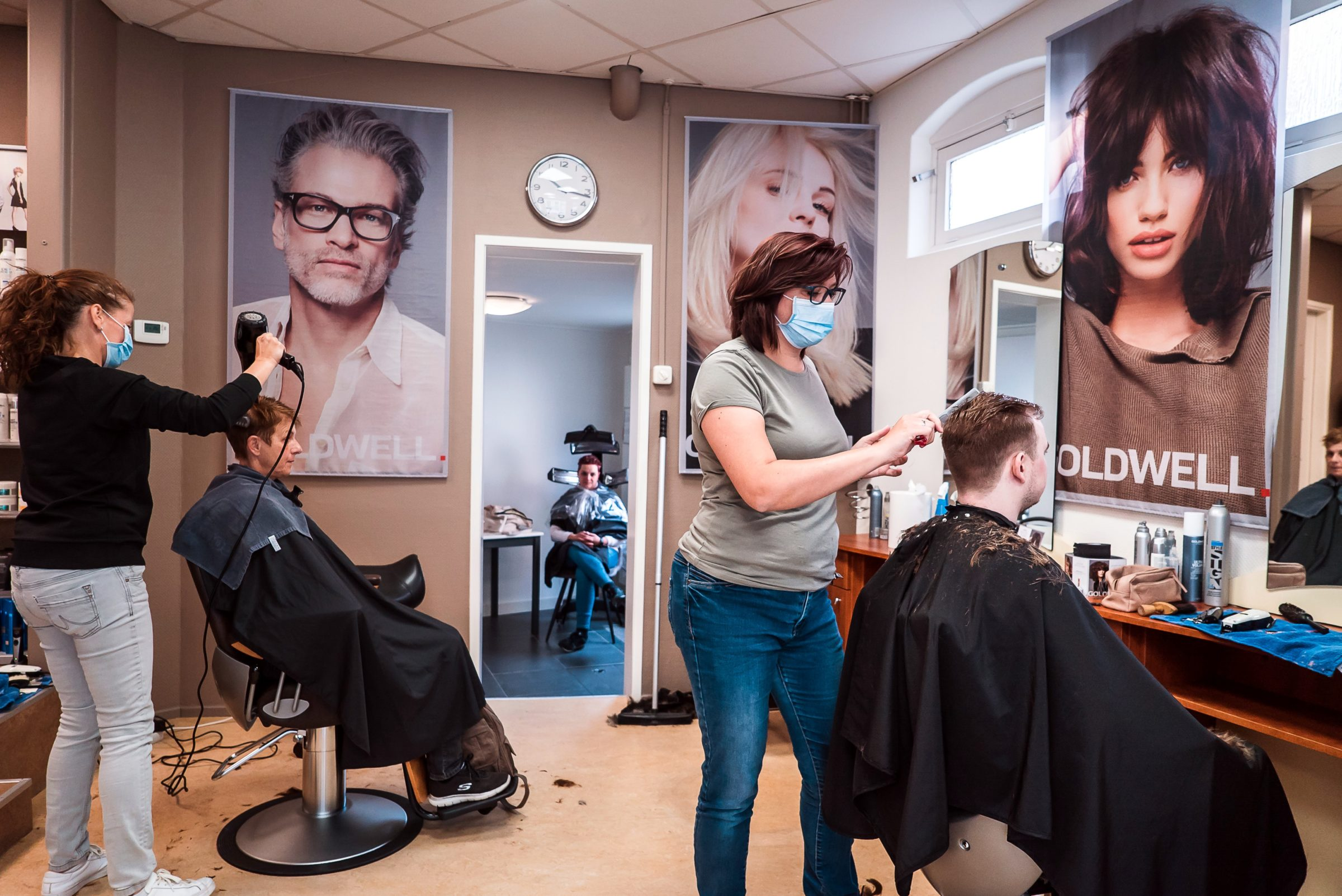 hairdressers open earlier than expected