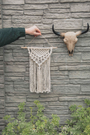 macrame from little leaves studio kerry rural ireland
