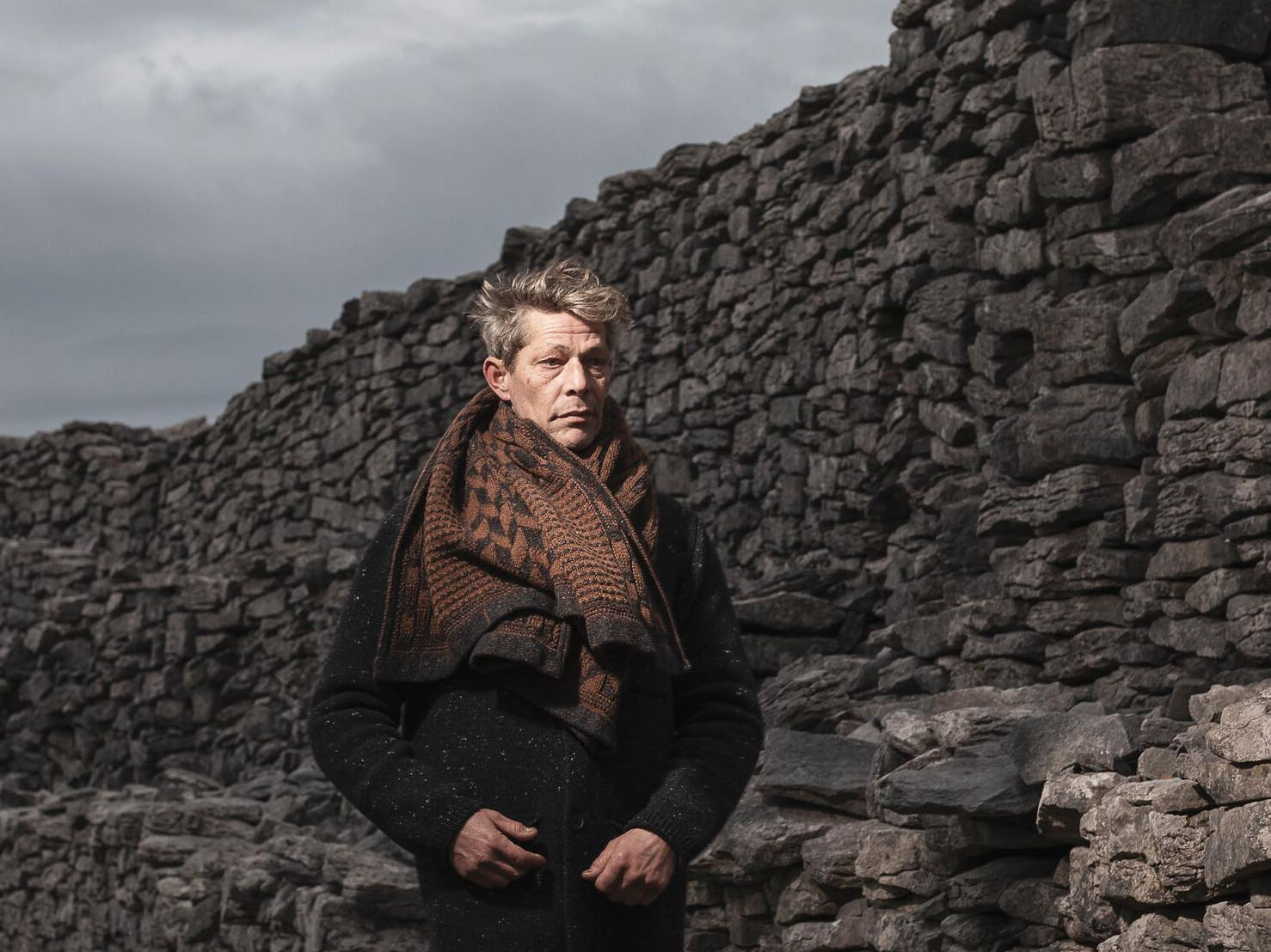 inis meain scarf father's day gift