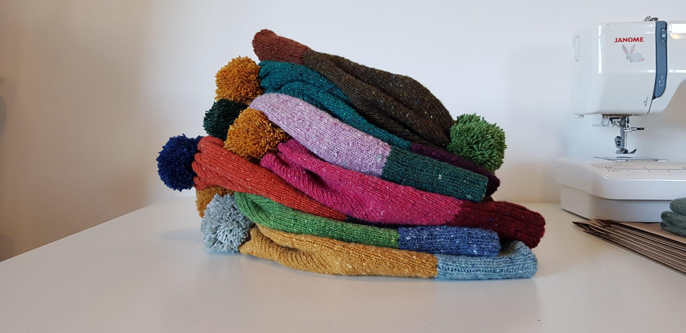 Merino wool Hats - Donegal Yarns_Liadain Aiken