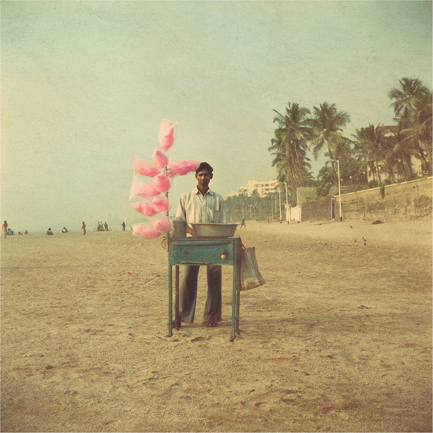 candy floss beach Nadia Attura