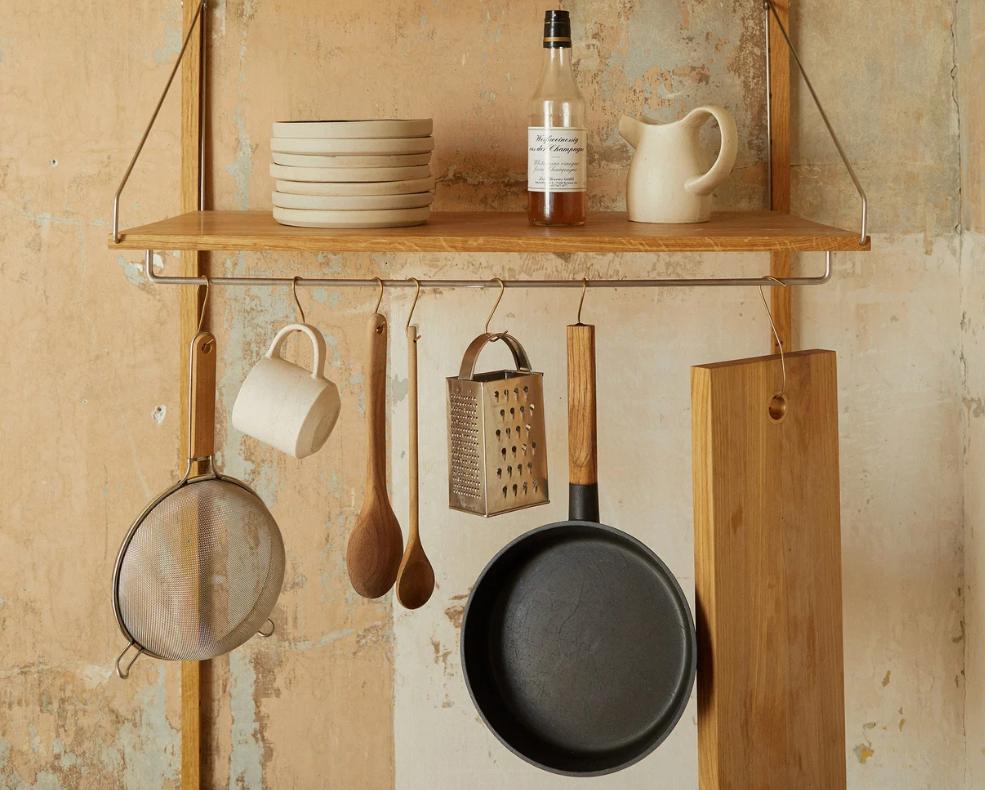 wall-hung kitchen storage