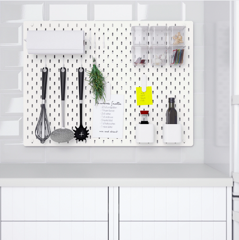 wall-mounted kitchen storage