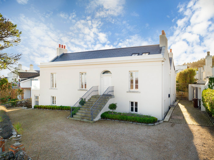 Edna O'Brien's Dalkey home
