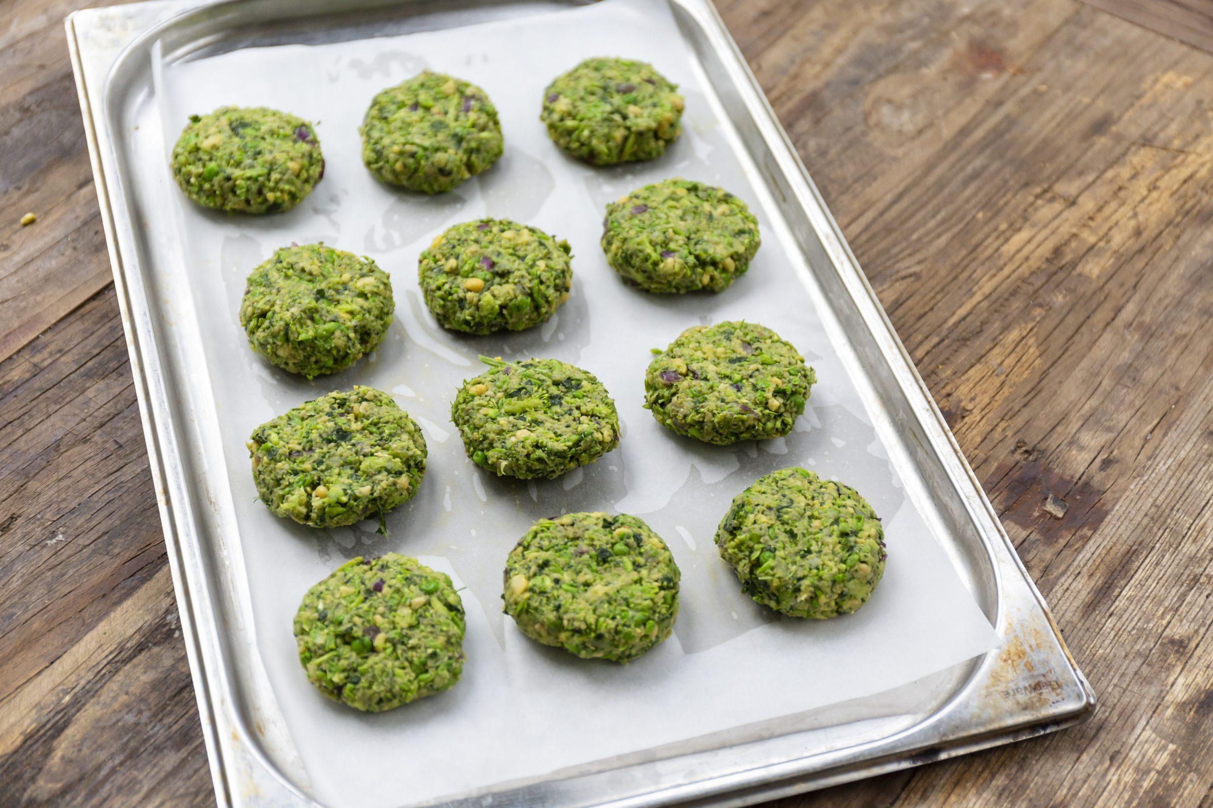 avoca's super green falafel
