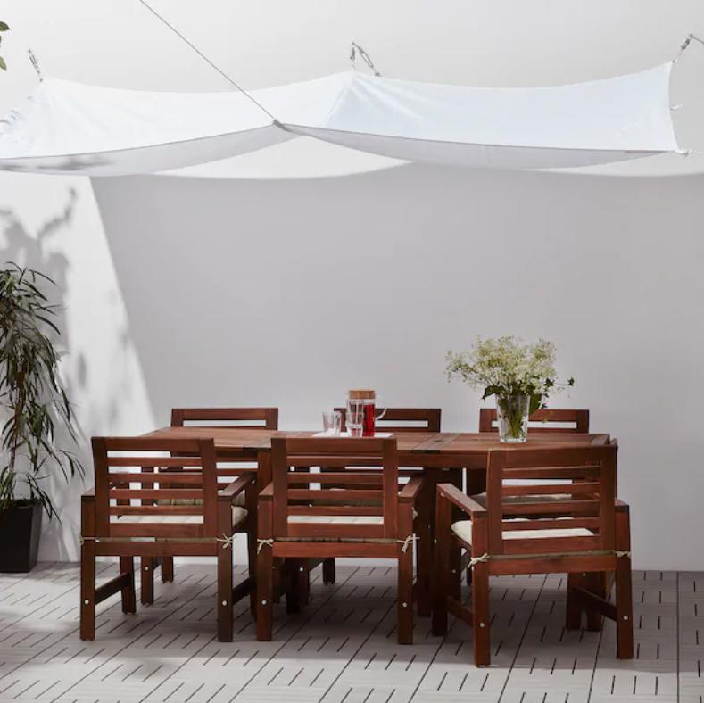 outdoor dining under €50