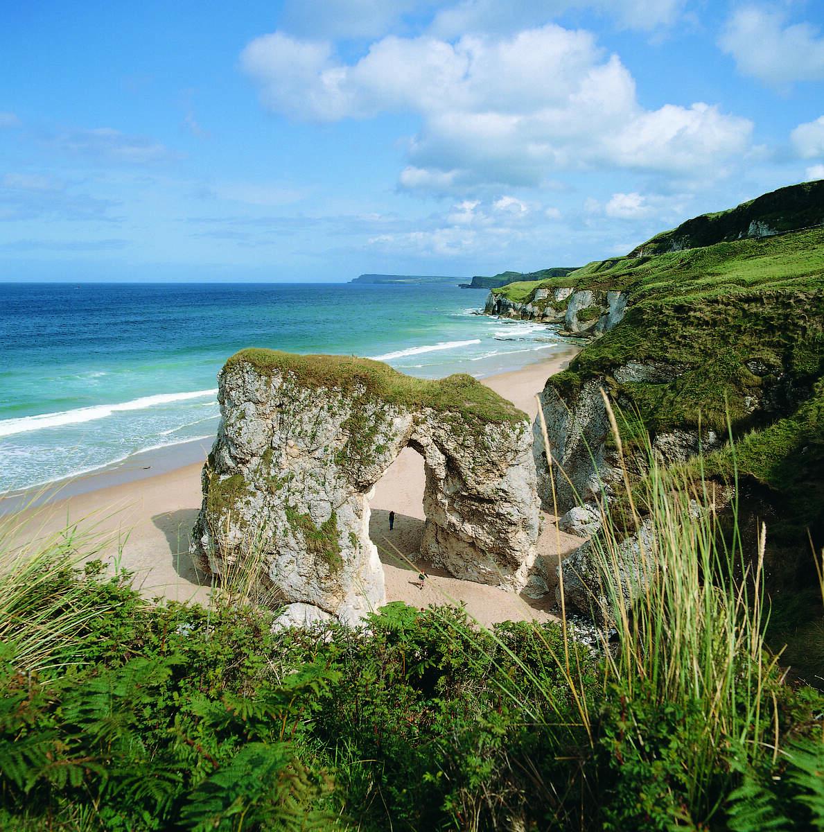 best beaches in Ireland whiterocks
