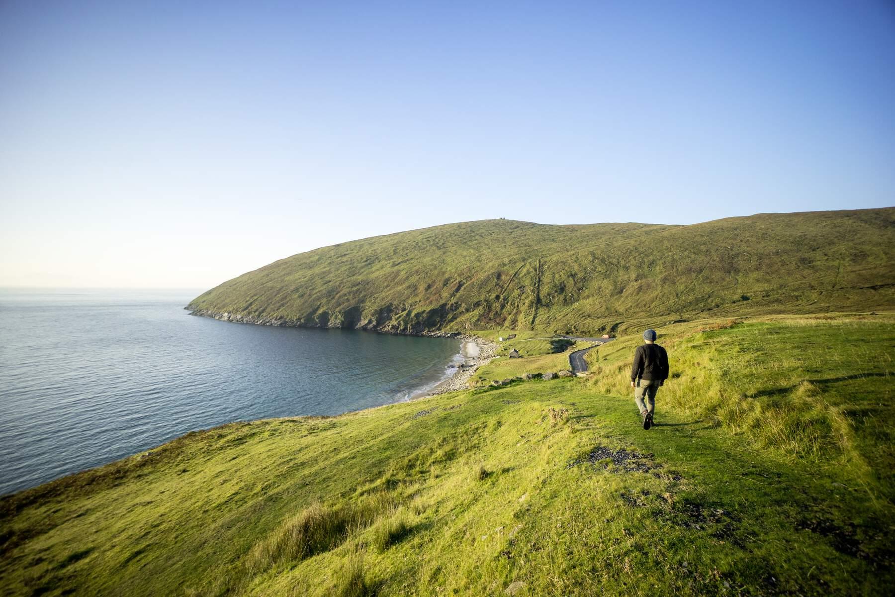 best beaches in Ireland keem