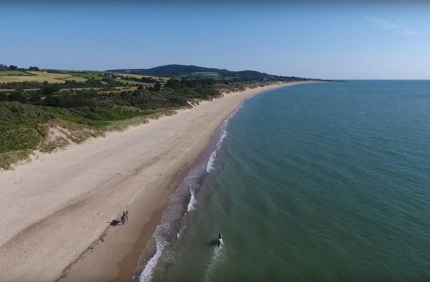 best beaches in Ireland brittas
