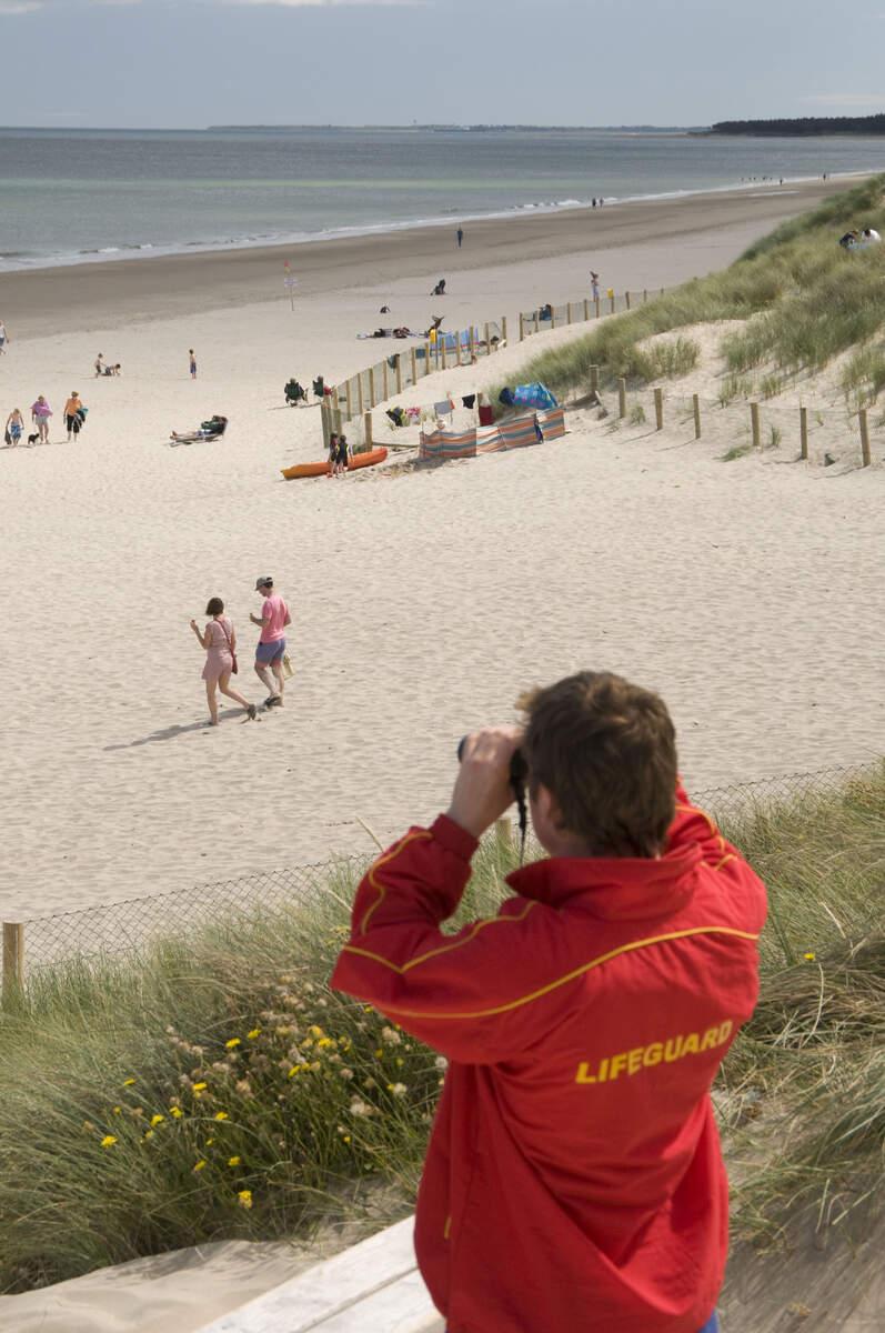 best beaches in Ireland curracloe