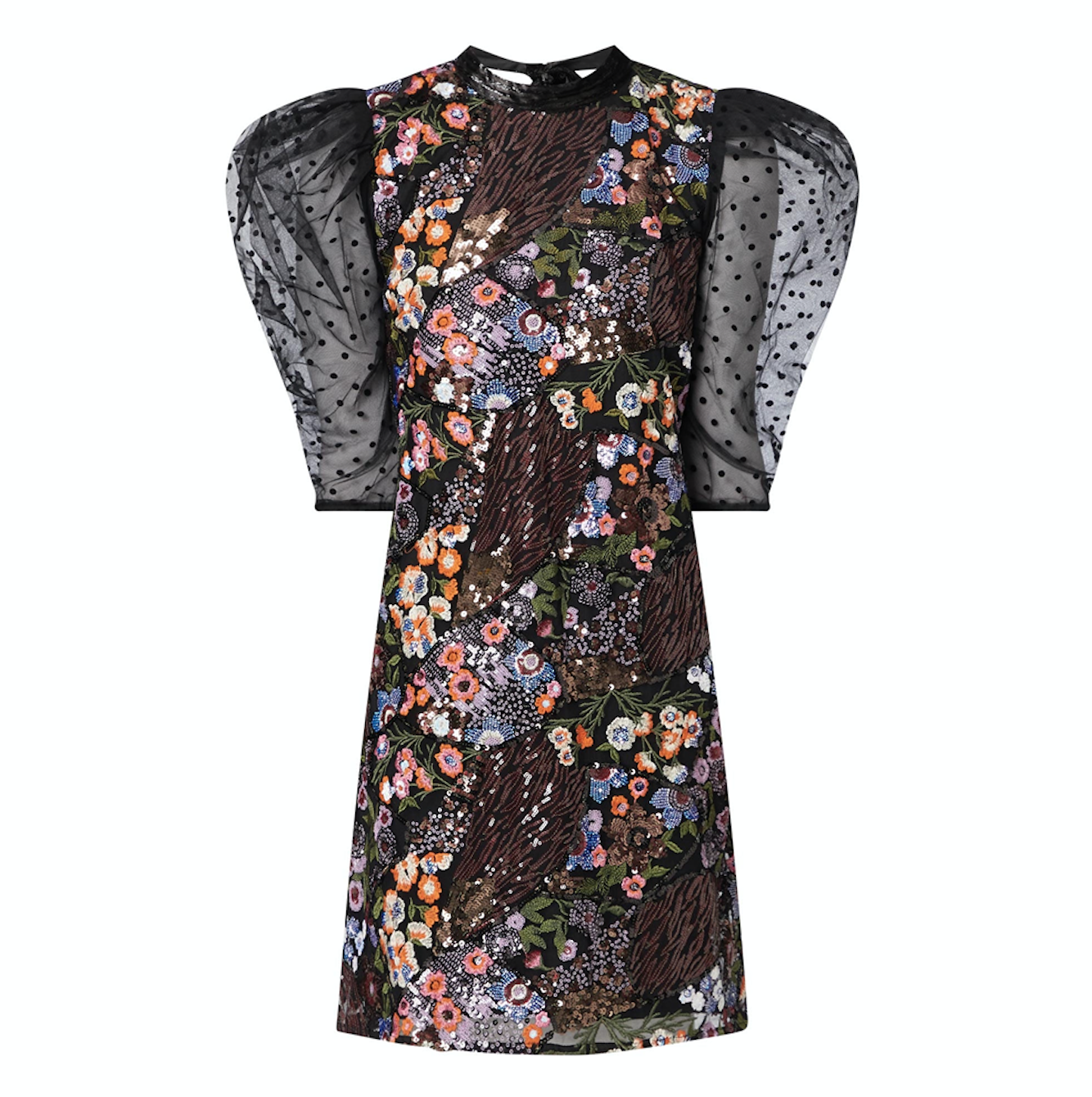 Fee G Sequin Embroidered Midi Dress €265