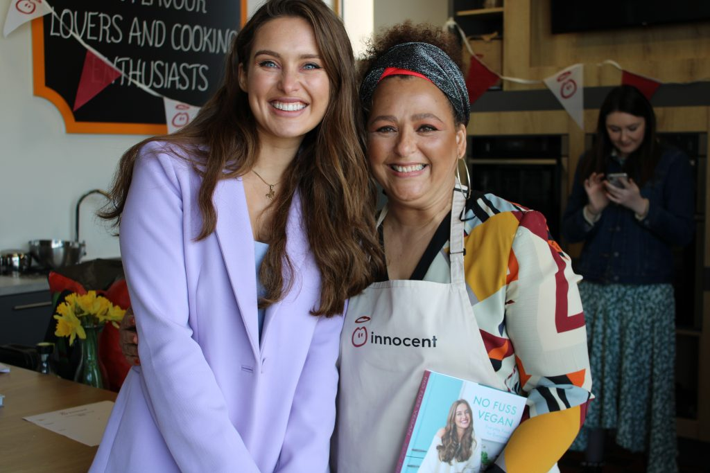 Innocent dairy-free cook off