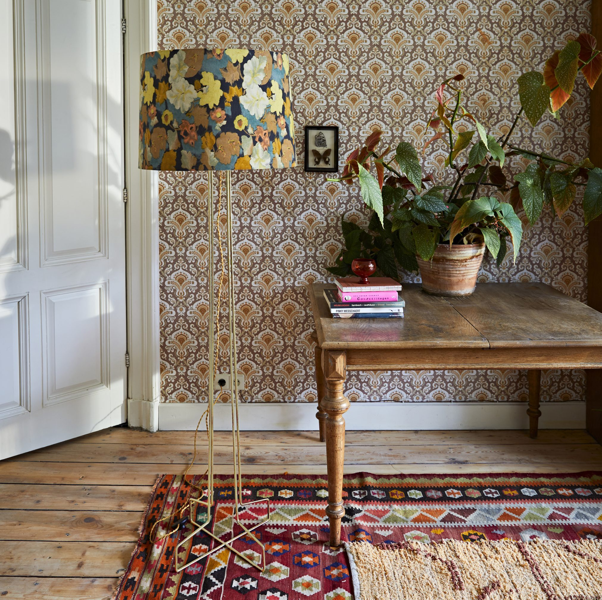 How to clash prints and patterns